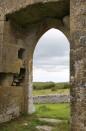 A medieval church entrance that makes interior/ exterior seem an arbitrary distinction.
